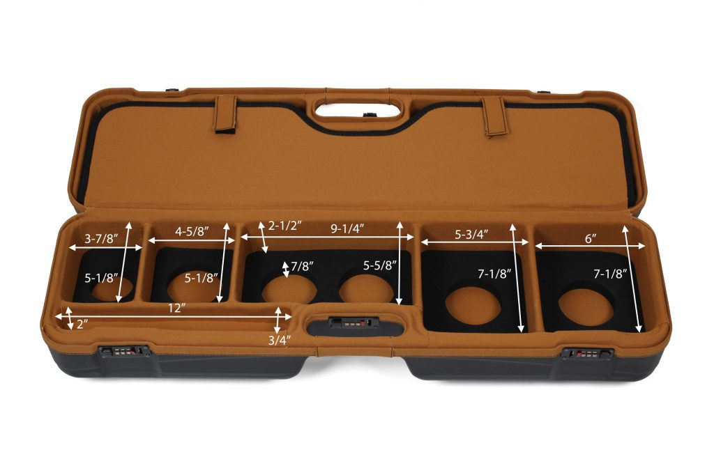Luxury Fly Fishing Travel Case - 16201LX/5997 by Sea Run Cases - Interior Dimensions